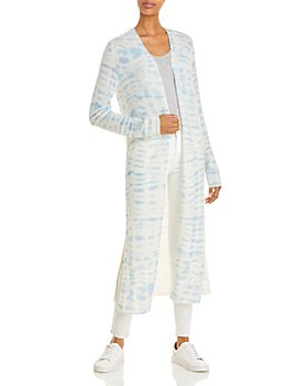 C by Bloomingdale's - Tie-Dye Cashmere Duster Cardigan - 100% Exclusive