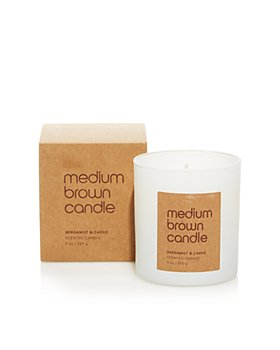 Bloomingdale's - Medium Brown Candle, Bergamot & Cassis Scented - 100% Exclusive