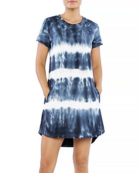 Billy T - Shock Wave Tie Dyed Tee Dress