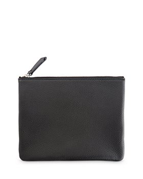 ROYCE New York - Leather Zip Pouch