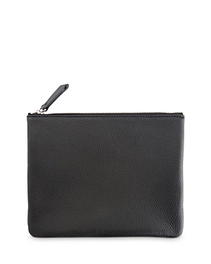 Royce New York Leather Zip Pouch