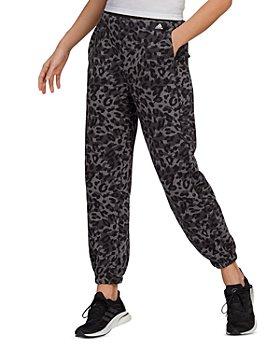 Adidas - Leopard Print Sweatpants