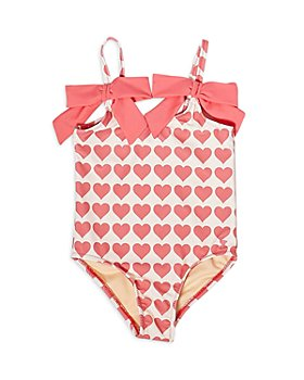 Pink Chicken - Girls' Lulu Printed Swimsuit - Little Kid