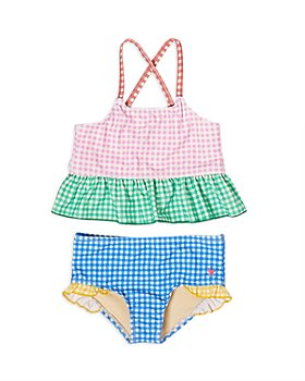 Pink Chicken - Girls' Joy Mixed Gingham Two Piece Swimsuit - Little Kid
