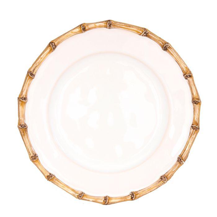 Juliska - Classic Bamboo Natural Side/Cocktail Plate