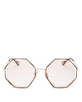 Chloé - Women's Geometric Sunglasses, 53mm