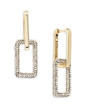 BAUBLEBAR - Octo Crystal Link Drop Earrings