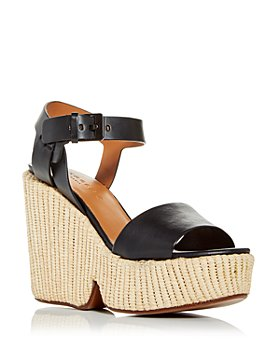 Clergerie - Women's Dapryl Wedge Platform Sandals