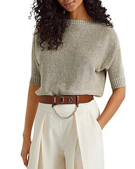 Ralph Lauren - Metallic Linen Blend Sweater