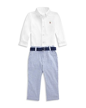 Ralph Lauren - Boys' Shirt and Seersucker Pants Set - Baby
