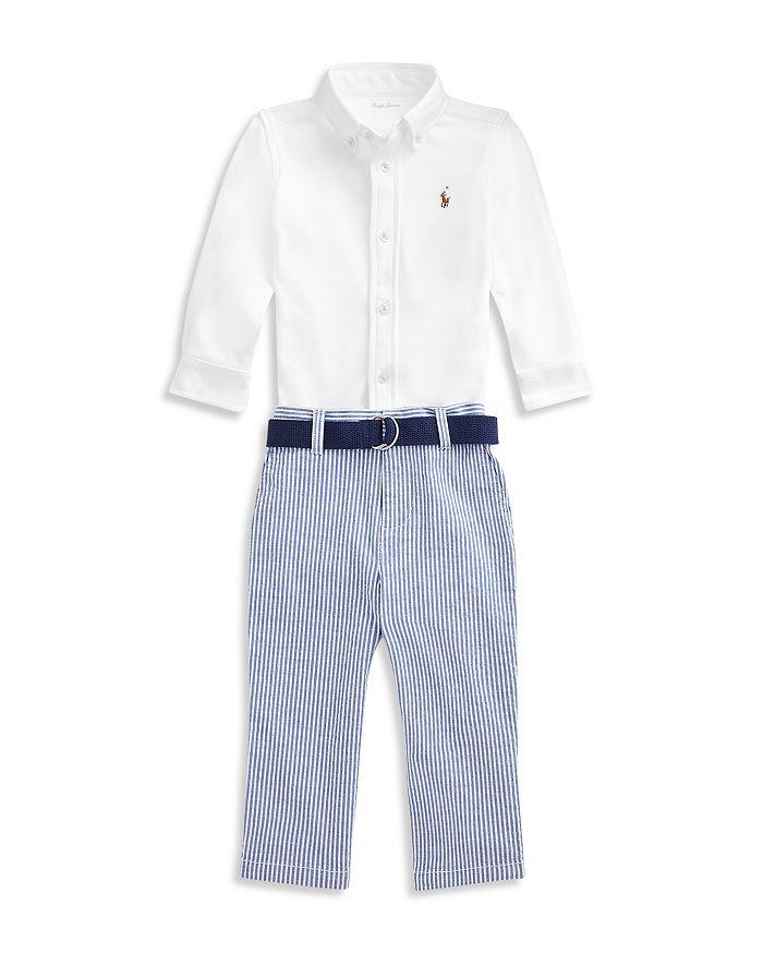 Ralph Lauren - Boys' Shirt and Seersucker Pants Set - Baby
