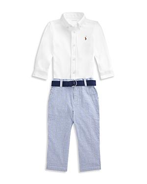 Ralph Lauren Sets Boys' Shirt and Seersucker Pants Set - Baby