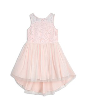 Pippa & Julie - Girls' Heart Bodice Dress - Little Kid