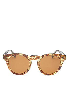 Oliver Peoples - Unisex Lewen Round Sunglasses, 49mm