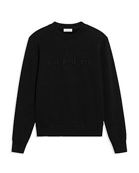 Sandro - Black Logo Sweatshirt