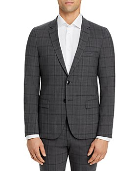 HUGO - Anfred Plaid Extra Slim Fit Suit Jacket