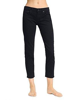 rag & bone - Dre Slim Boyfriend Jeans in Black