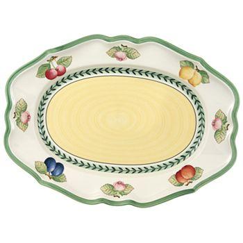 "Villeroy & Boch - ""French Garden"" Fleurence Platter, 14.5"""