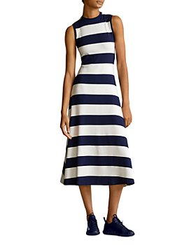 Ralph Lauren - Sleeveless Striped Midi Dress