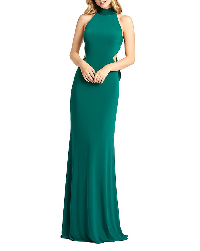 Mac Duggal - Halter Neck Long Dress