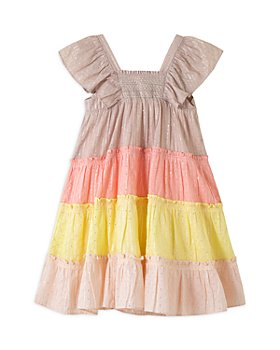 Peek Kids - Girls' Caroline Tiered Sparkle Dress - Little Kid, Big Kid
