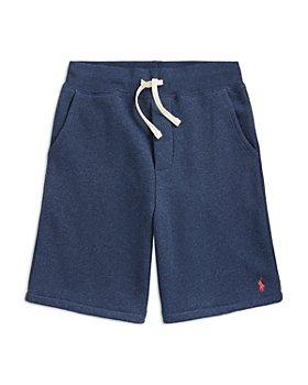 Ralph Lauren - Boys' Brushed Fleece Shorts - Little Kid, Big Kid