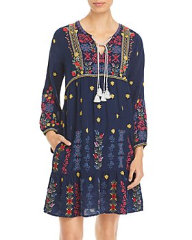 Johnny Was - Daisy Floral Embroidered Dress