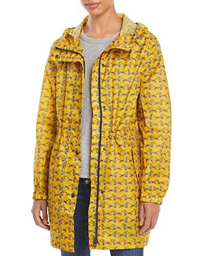 GoLightly Dog Print Packable Raincoat