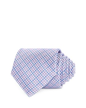 The Men's Store at Bloomingdale's - Gingham Silk Check Classic Tie - 100% Exclusive