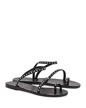 Ancient Greek Sandals - Women's Apli Eleftheria Crystal Strappy Slide Sandals