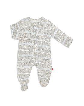 MAGNETIC ME - Unisex Pebble Beach Striped Footie - Baby