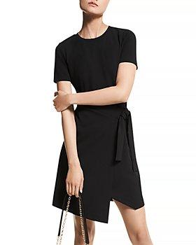 MICHAEL Michael Kors - Wrap T-Shirt Dress