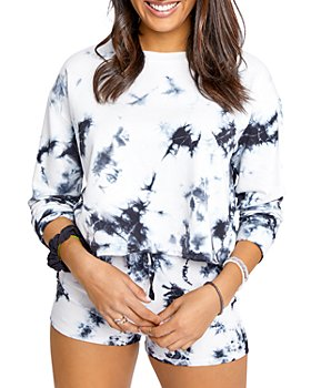 Splendid - Charli Tie Dye Sweatshirt & Playa Shorts