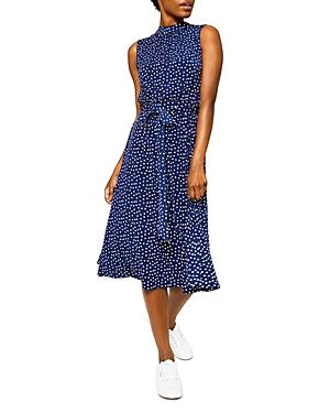 Mindy Shirred Midi Dress
