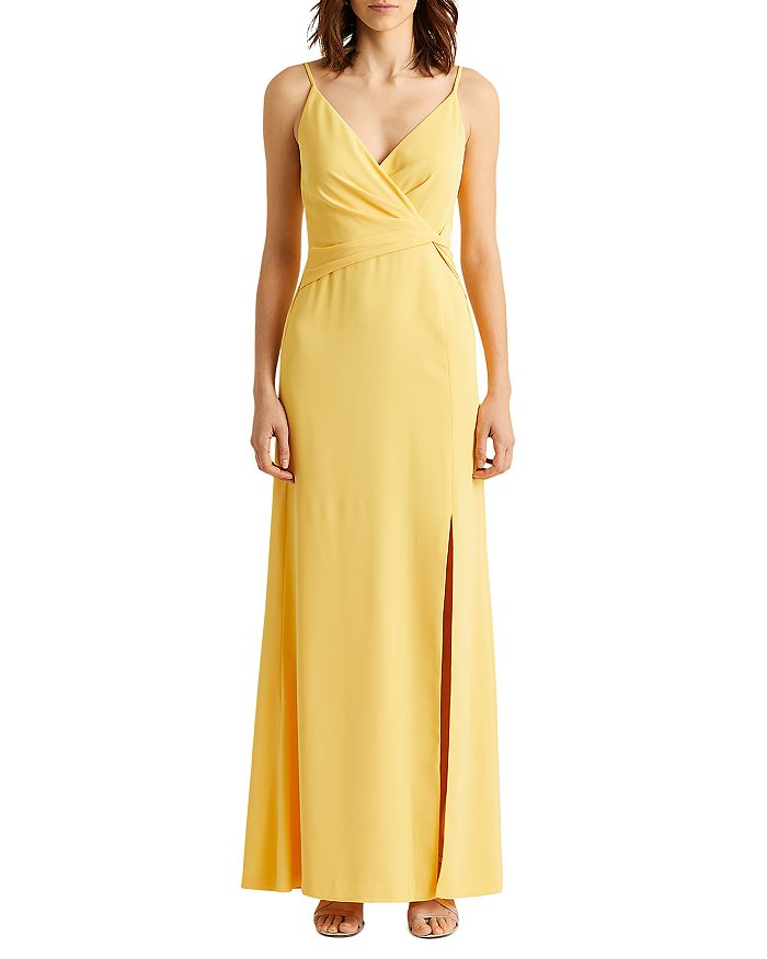 Ralph Lauren - Crepe Knotted Gown