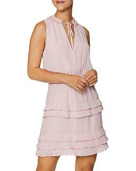 Laundry by Shelli Segal - Ruffled Sleeveless Mini Dress