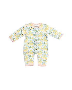 MAGNETIC ME - Girls' Citrus Printed Coverall - Baby