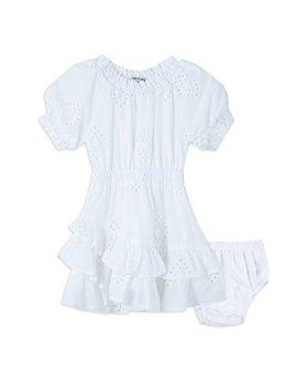 Habitual Kids - Girls' Cotton Tiered Eyelet Dress - Baby