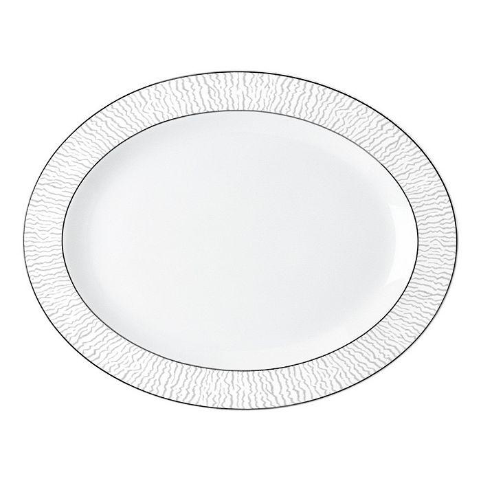 """Bernardaud - Dune Oval Platter, 13"""""""