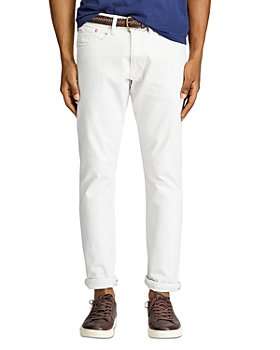 Polo Ralph Lauren - Varick Slim Straight Jeans in Stone