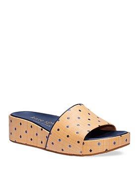 kate spade new york - Women's Breeze Platform Slide Sandals