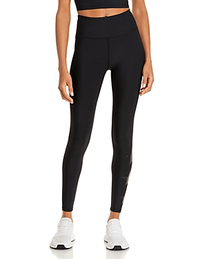 Aqua Athletic Foil Star High Rise Ankle Leggings - 100% Exclusive