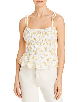 LINI - Beth Smocked Camisole - 100% Exclusive