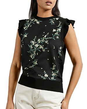 Ted Baker PAPYRUS PRINT TOP