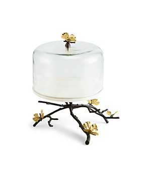 Michael Aram - Butterfly Ginkgo Cakes Stand with Dome
