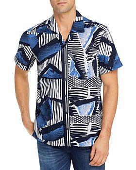 BOSS - Rhythm Modern Print Regular Fit Shirt
