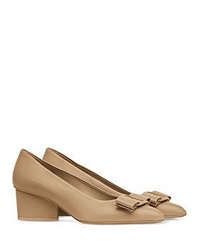Salvatore Ferragamo - Women's Embellished Pointed Toe High Heel Pumps