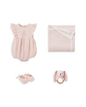 Elegant Baby - Girls' 4 Piece Romper Bundle - Baby