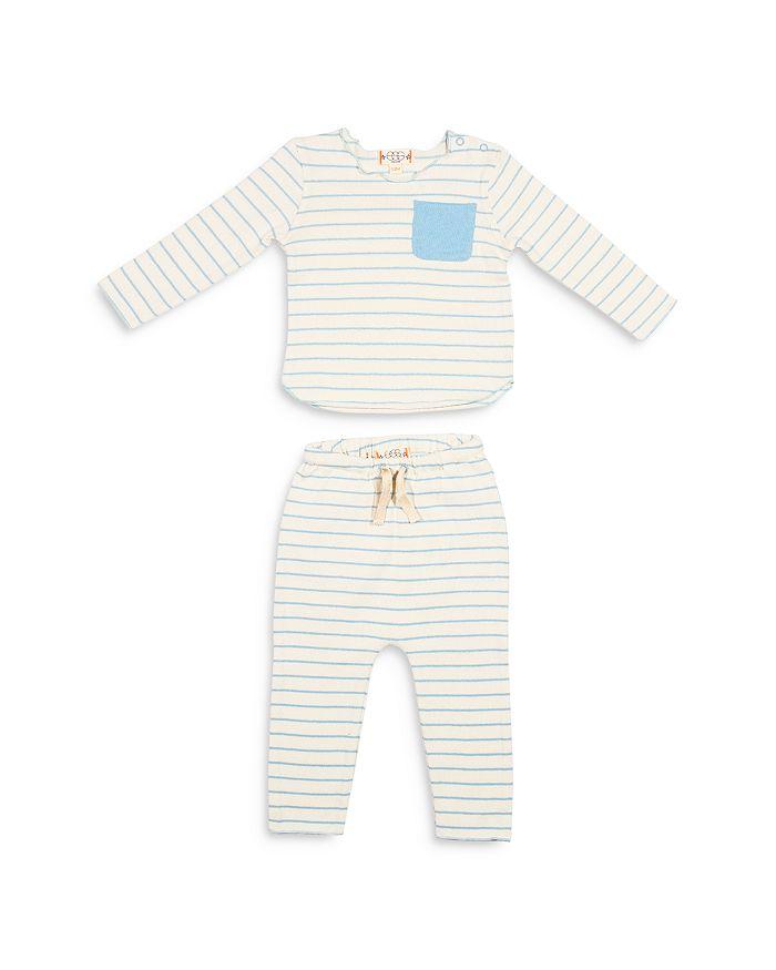 EGG new york - Unisex Bobbi Stripped Pants Set  - Baby