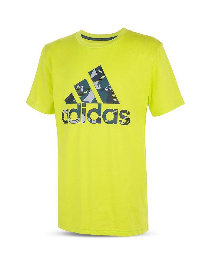 Adidas Originals BOYS' ACTION CAMOUFLAGE LOGO TEE - LITTLE KID